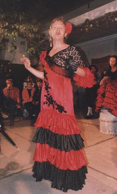 Flamenkotänzerin im Hofspektakel am Städtischen Puppentheater Magdeburg - Foto: Jürgen Banse
