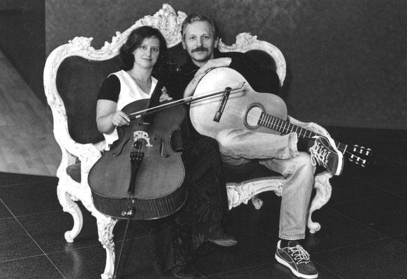 Magdalena und ich Foto: Jürgen Banse
