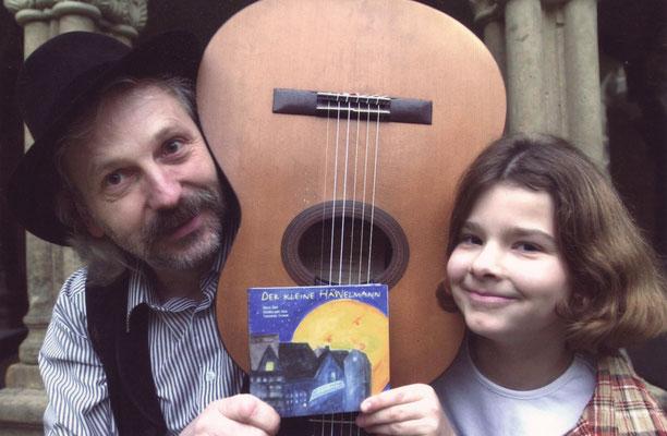"""Pressefoto zur CD-Premiere """"Der kleine Häwelmann"""" Foto: Viktoria Kühne"""