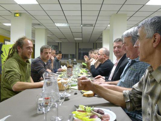 Discussion animée entre maraîchers et cuisiniers