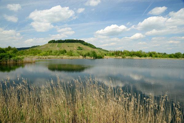 Seenlandschaft im Haff Reimich, Luxemburg