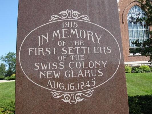in Memory New Glarus