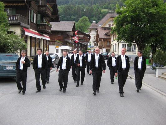 Verschiebung mit Zugfahrt von Saanen nach Gstaad