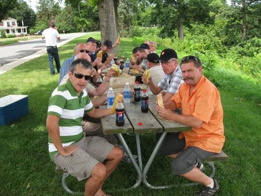 Gondola-Picknick bei Riverview Drive
