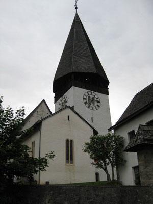 Unser Wettlokal, Kirche von Saanen