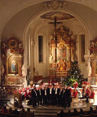 Liberty Brass Band  und Jodelchörli Alpsteinblick  in Kirche Andwil