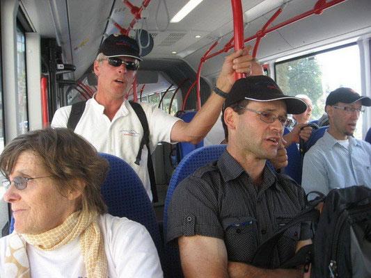 Busfahrt nach Friedrichshafen