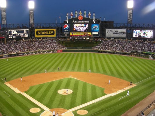 White Sox Chicago gegen New York Yankees