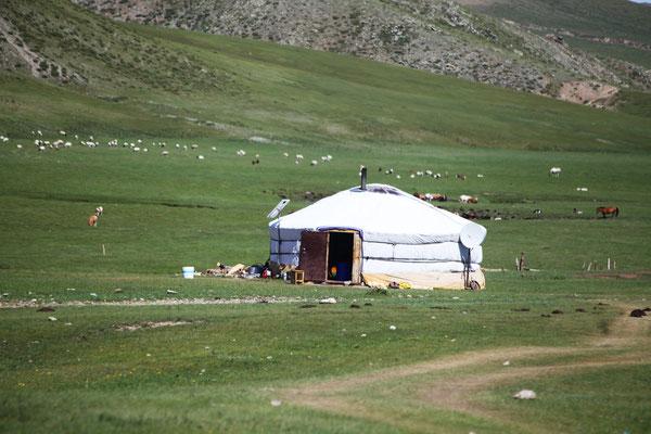 Jurte das Wohnhaus der Mongolen