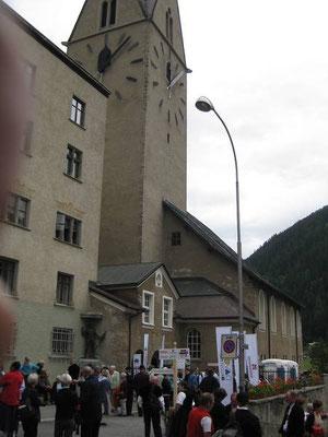 unser Auftrittslokal Kirche St. Johann