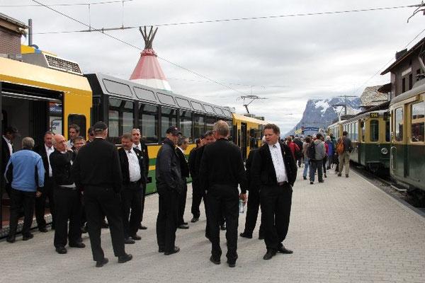 Ankunft in Grindelwald