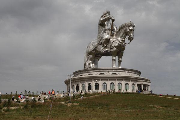 41 Besuch vom Chinggis Khaan Monument und Park