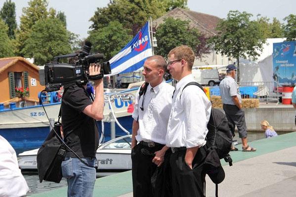 Tele-Züri Interview mit dem Nachwuchs