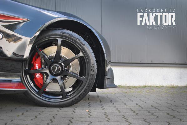 Aston Martin Vantage GT8 Lackschutzfolierung /// Nie wieder Steinschlag /// Hamburg und Rostock