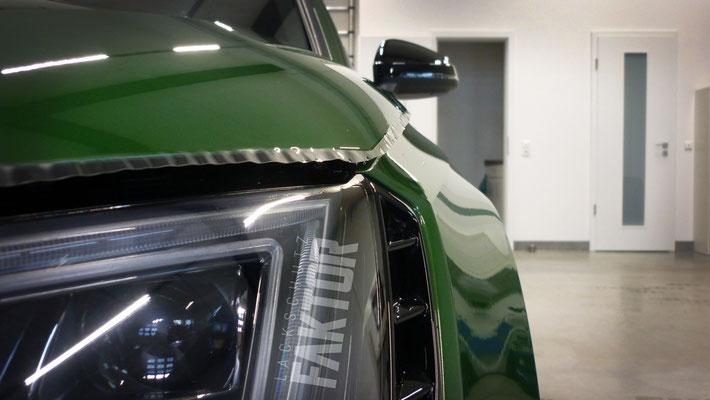 Audi RS4 Avant Lackschutzfolierung /// Nie wieder Steinschlag /// Hamburg und Rostock