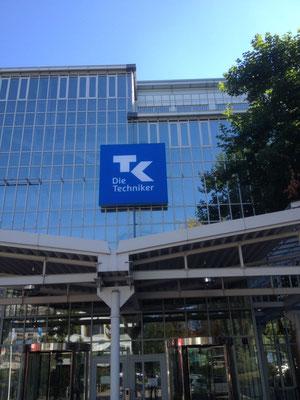 Techniker Krankenkasse, Hamburg | Spanntuchtransparente