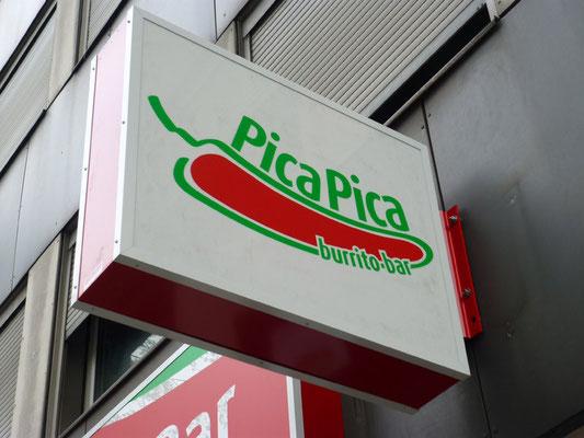 PicaPica, Düsseldorf | Flachtransparent und Ausstecker im Profil E180