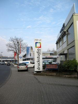 Pylon für Druckstudio Drechsler - Düsseldorf
