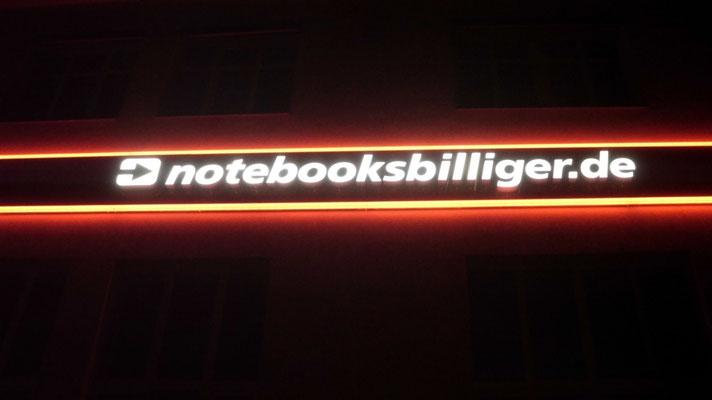 Einzelbuchstaben im Profil 5 (notebooksbilliger.de, Laatzen)