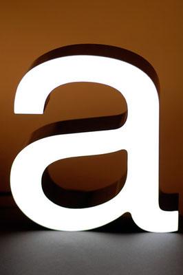 Beispiel - Frontleuchter (Vollacrylglas-LED-Buchstaben)
