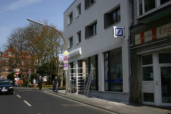 Deutsche Bank, Köln | komplett überholte und teilweise erneuerte Werbeanlagen