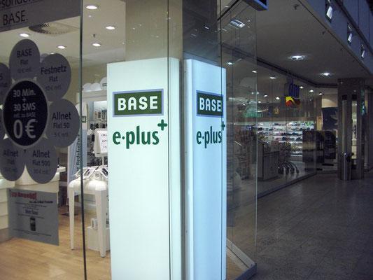 E-Plus | Shop Kennzeichnung