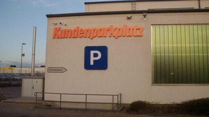 Einzelbuchstaben im Profil 1 (unbeleuchtet, wahlweise mit oder ohne Rückwand) / (notebooksbilliger.de, Laatzen))