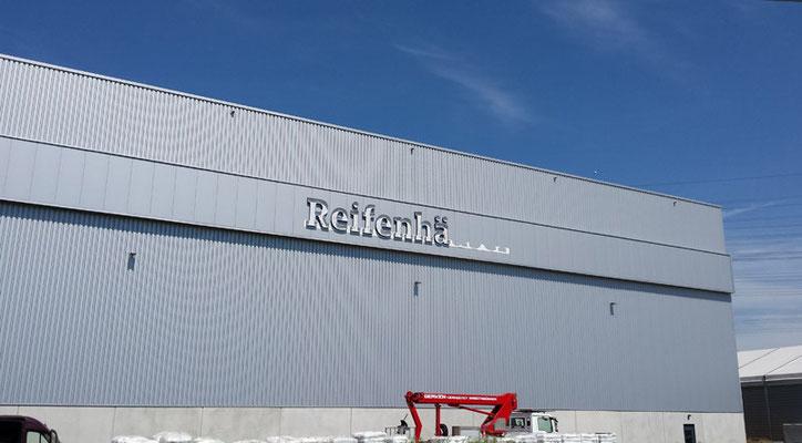 Reifenhäuser Gruppe, Troisdorf | Einzelbuchstaben im Profil 4