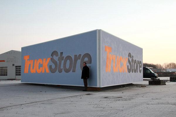 Dreieckanlage / Spanntuchanlage TruckStore in Stuhr