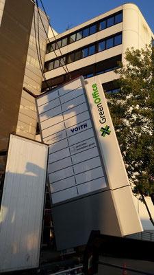 Pylon für GreenOffice, Düsseldorf