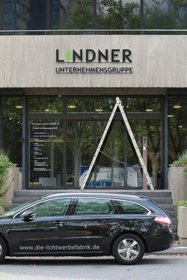 Lindner, Düsseldorf | Kantenleuchter, 30 mm stark