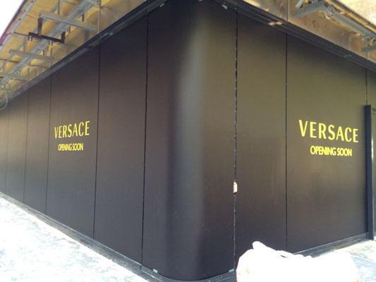 Versace, Düsseldorf | Baubeschriftung