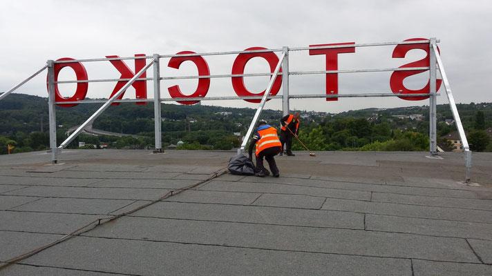 Einzelbuchstaben im Profil 4 (Stocko, Wuppertal)