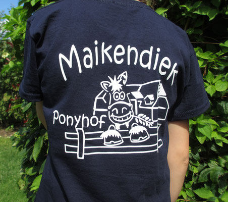 "Rückseite Shirt ""Ponyhof"""
