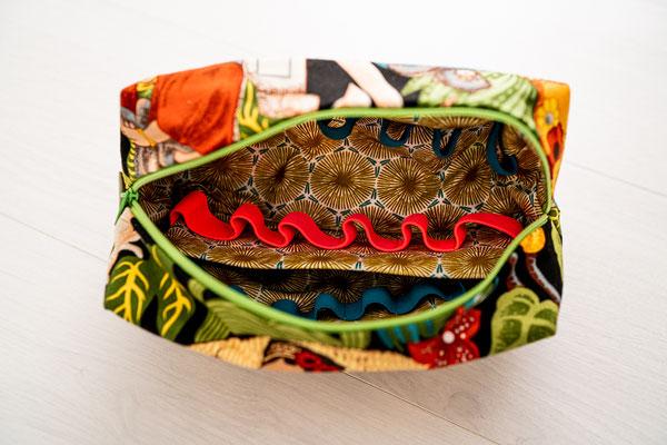 Öle Tasche Magnolie groß Detail