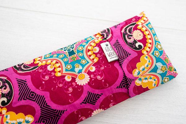 Augenkissen Marrakech Pink Detail