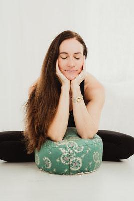 Meditationskissen Leichtigkeit Detail