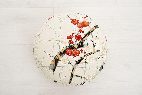 Meditationskissen Kirschblüte Detail II