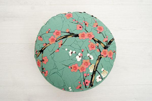 Meditationskissen Kirschblüten Detail II