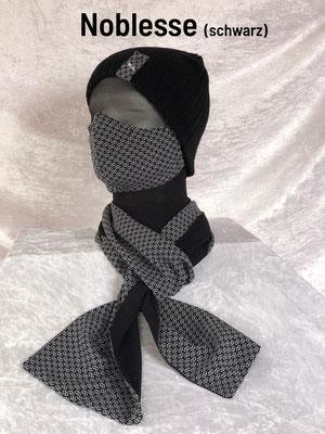 F - Maske + Schal + Mütze