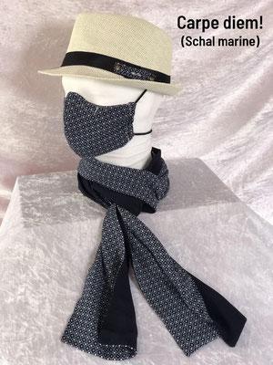 F - Maske + Schal + Hut