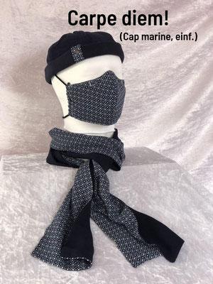 D - Maske + Schal + Cap einfach