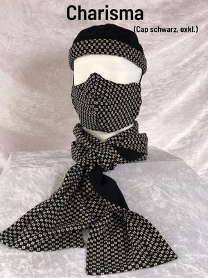 C1 - Maske + Schal + Cap exklusiv