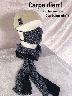 C2 - Maske + Schal + Cap einfach