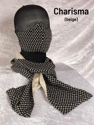 A2 - Maske + Schalrückseite beige