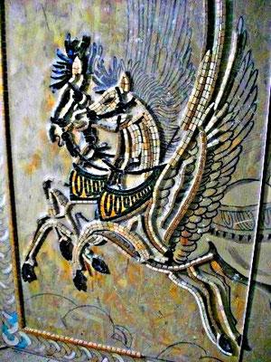 Mosaïque antique décoration
