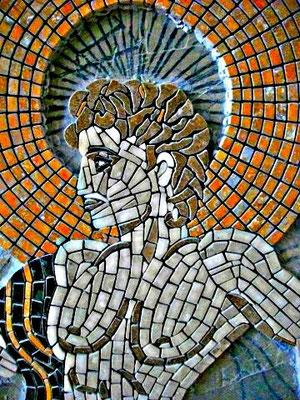 Mosaïque en marbre