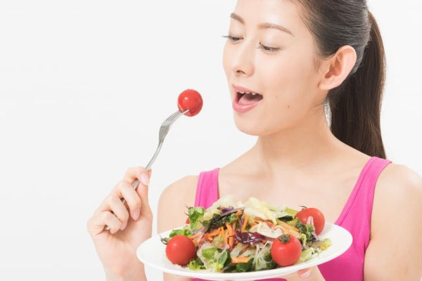 野菜たっぷりのドレッシングなら、さらに野菜をプラスできる