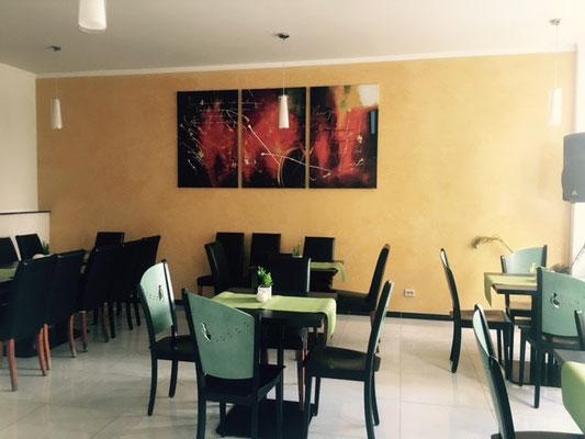 breakfast area for breakfast buffet, Hotel am Hafen Jungbusch