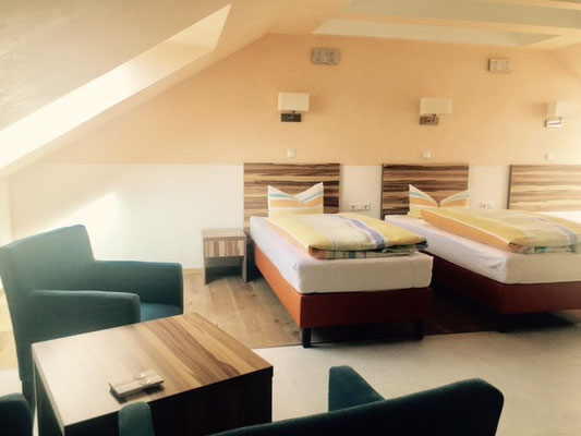twin room, Hotel am Hafen